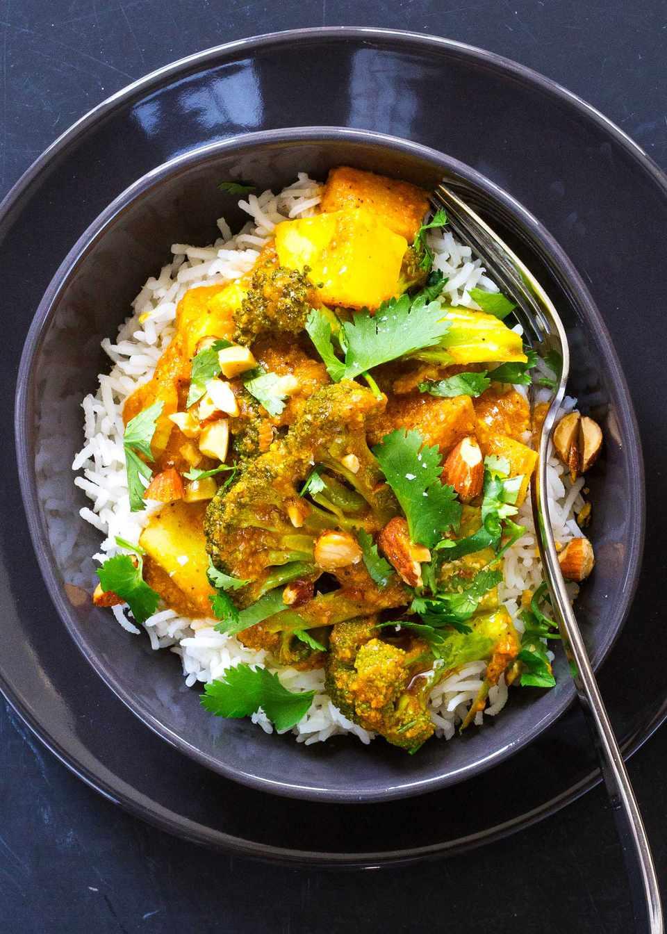 Potato Broccoli Curry