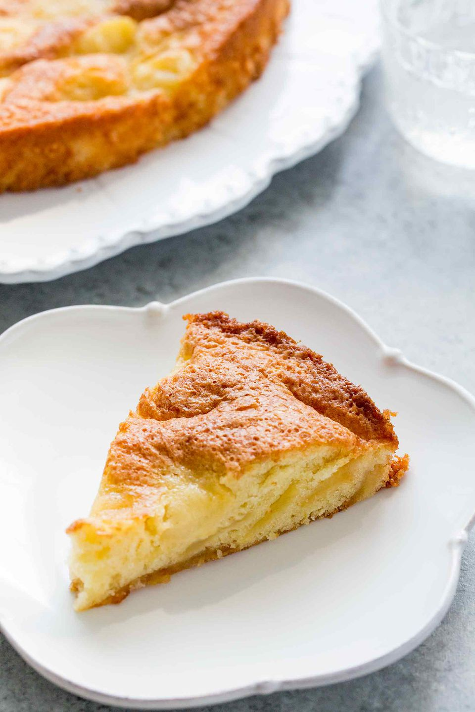 Buttery Apple Torte