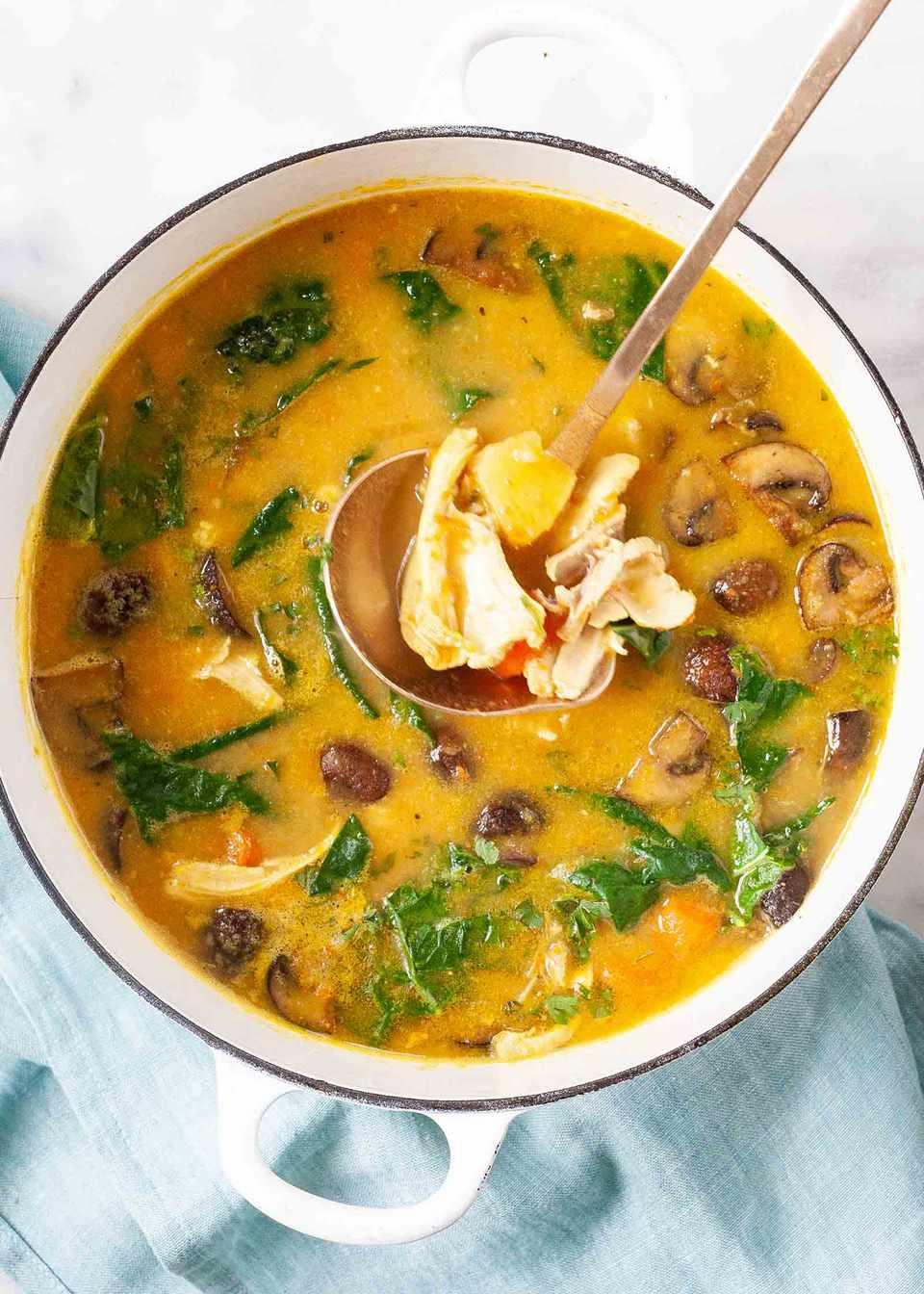Chicken Stew with Harissa