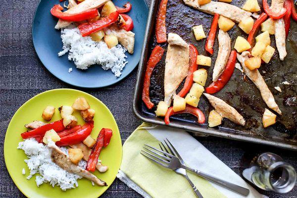Hawaiian Pineapple Chicken Recipe