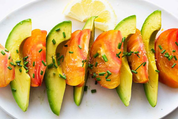 Avocado Heirloom Tomato Salad