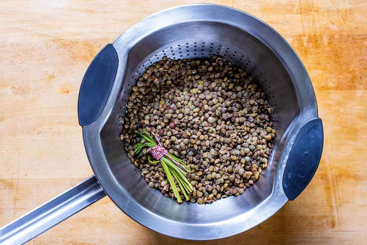 French Lentil Salad Recipe