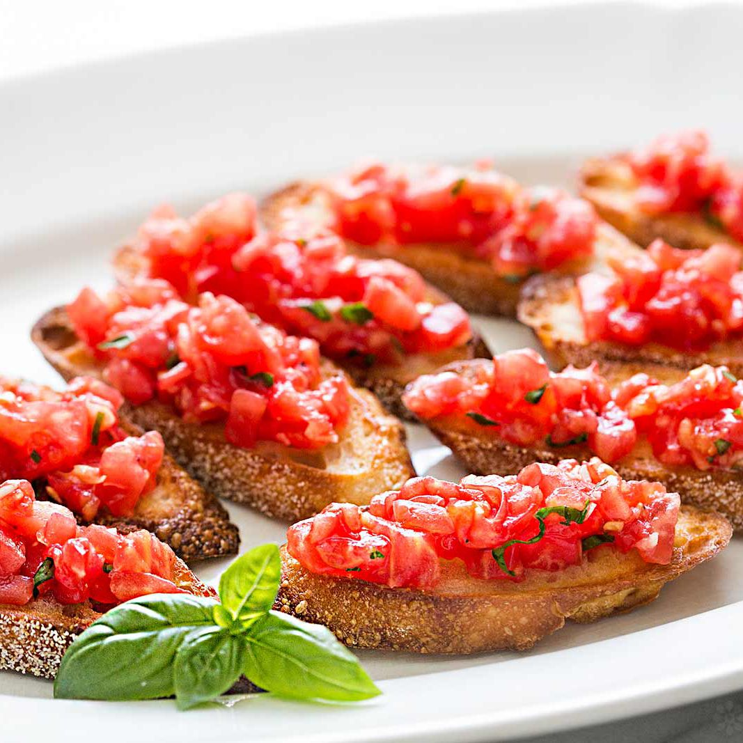 Bruschetta With Tomato And Basil Recipe