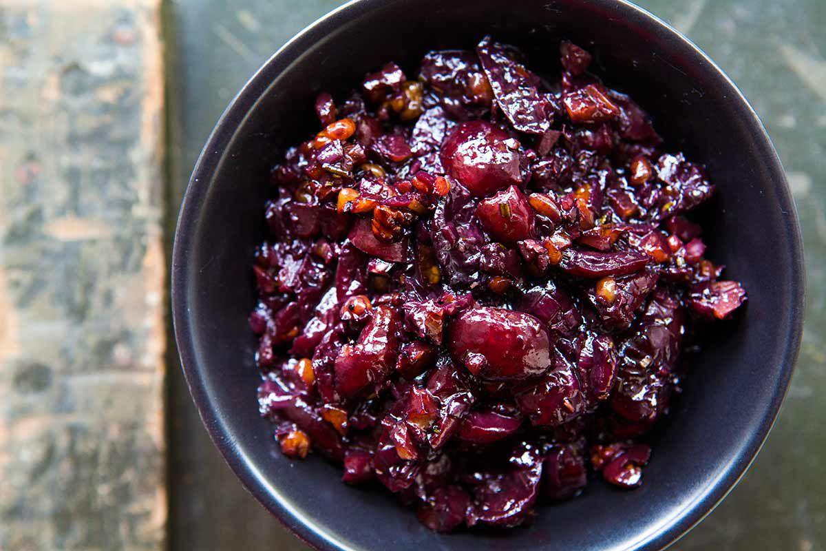 Savory Cherry Compote