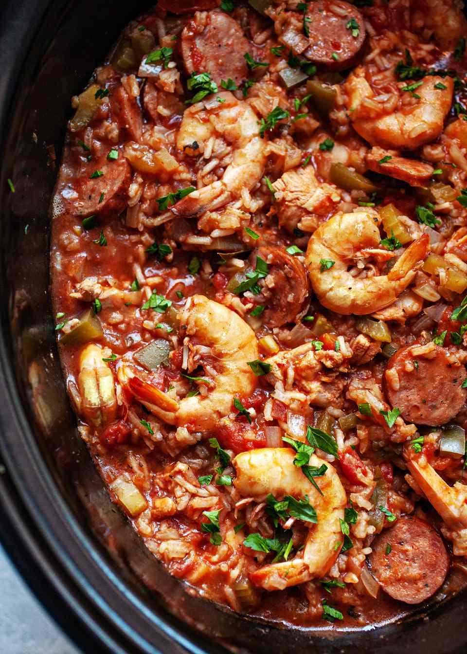 How to Make Jambalaya in the Crockpot