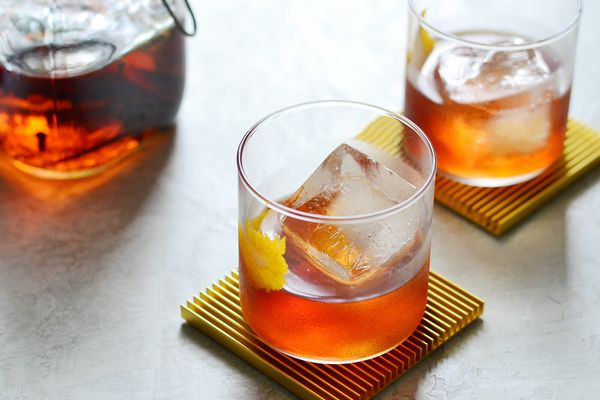 Holiday Spiced Old Fashioned Drink