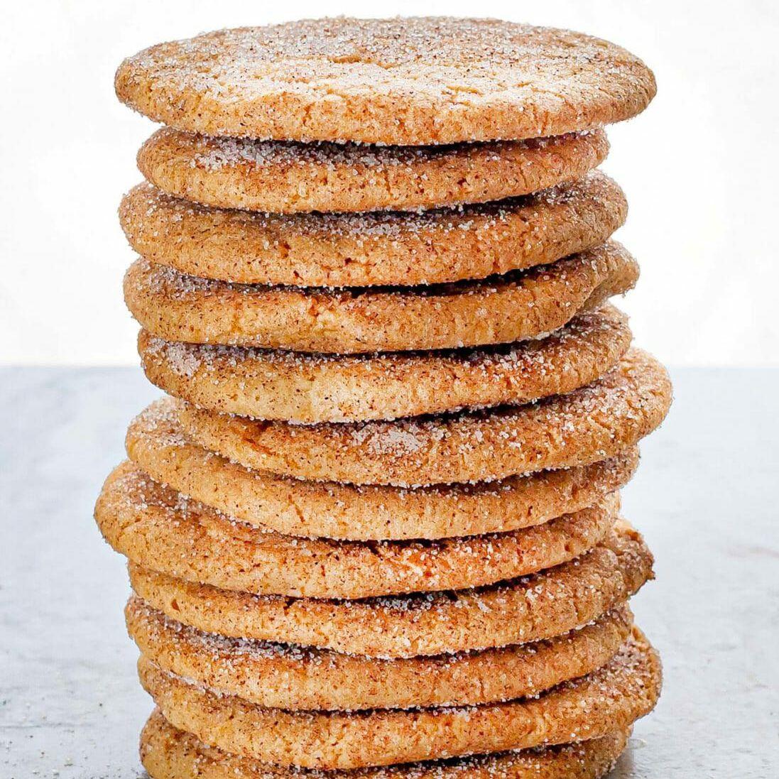 Brown Sugar Snickerdoodle Cookies Recipe