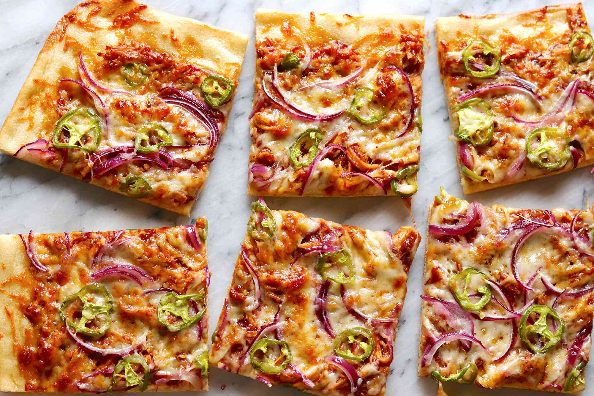 California Pizza Kitchen BBQ Chicken Pizza