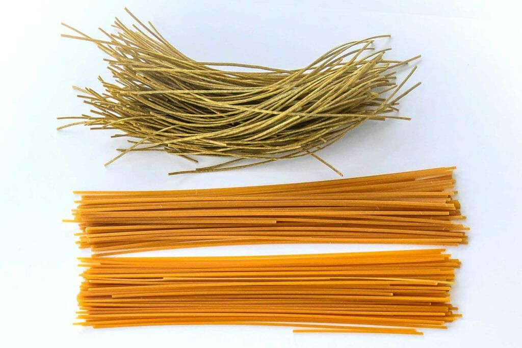 Legume-based gluten-free spaghetti pasta
