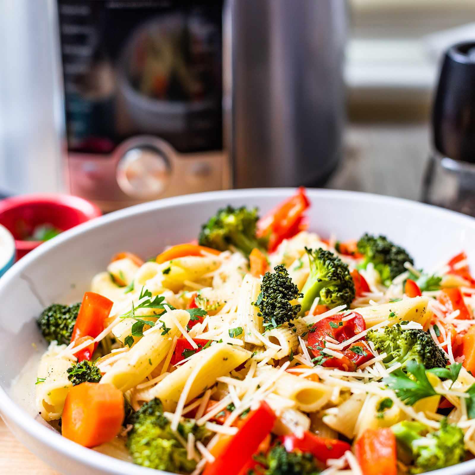 Instant Pot Pasta Primavera Recipe