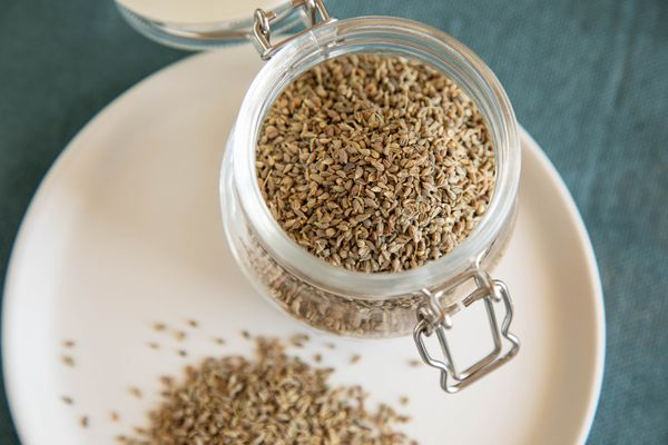 Anise seed in a jar