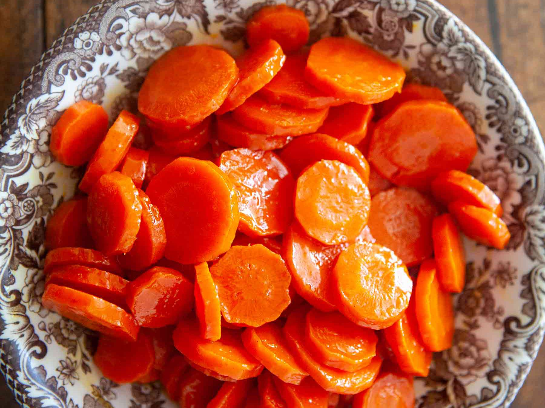 Maple Orange Glazed Carrots Recipe