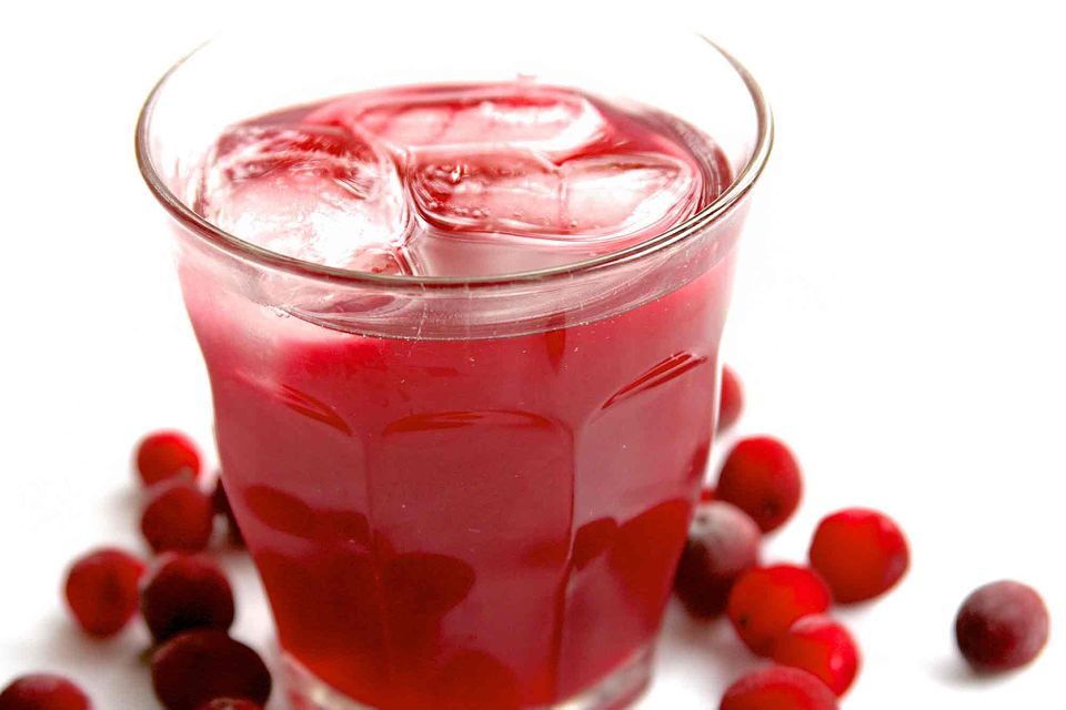 Low Carb Cranberry Cooler