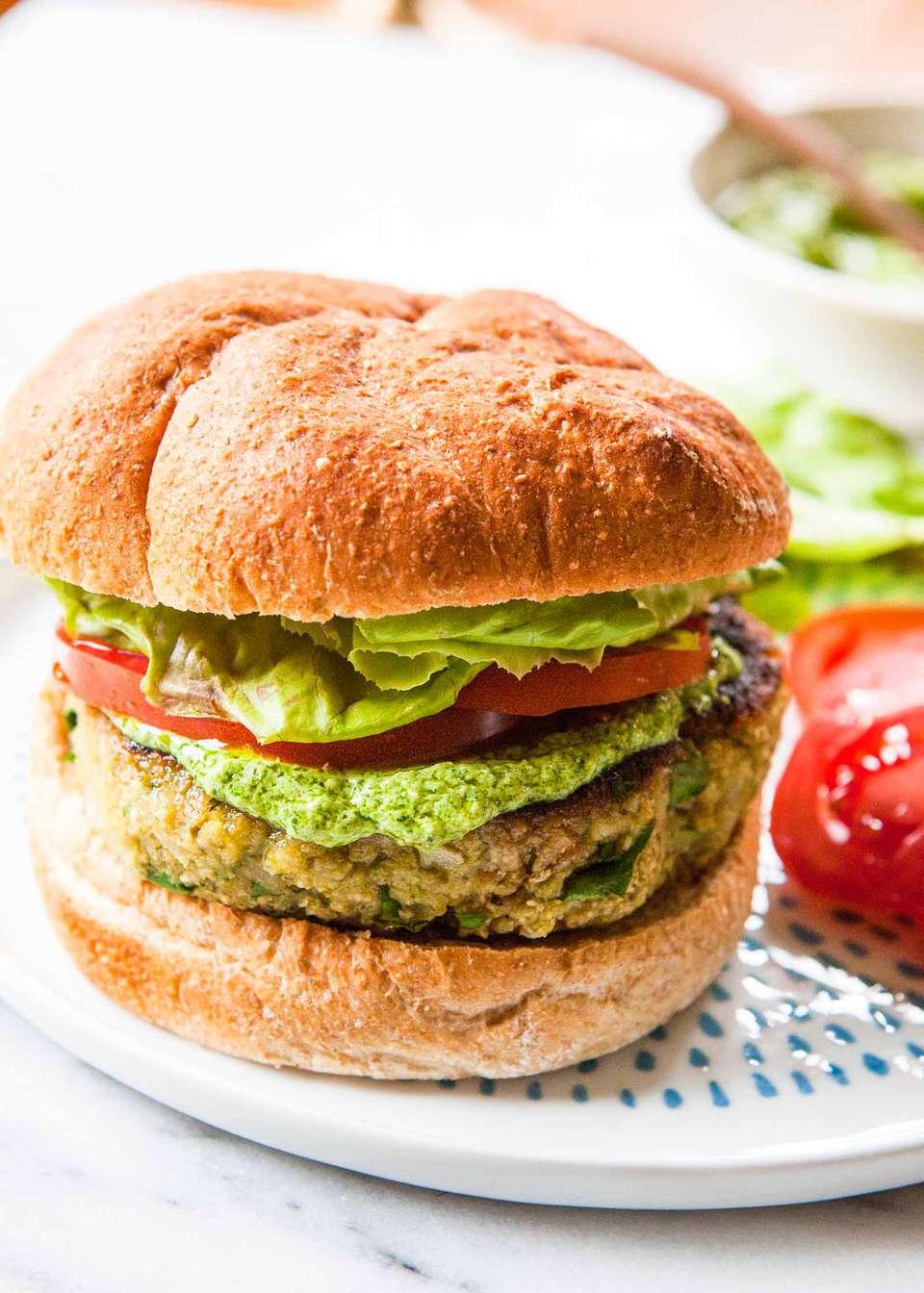 Homemade Veggie Burger Recipe