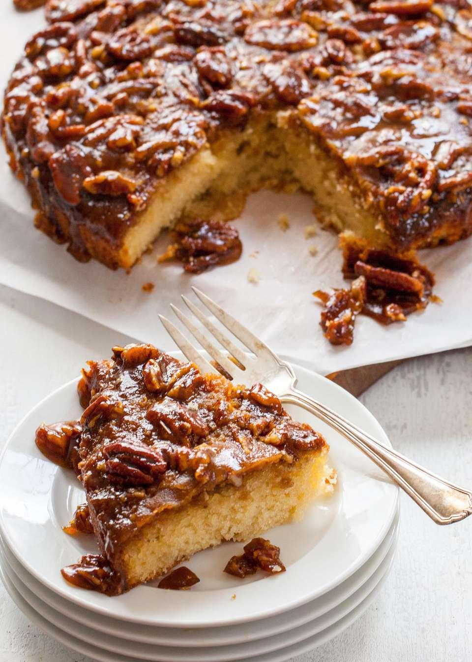 Salted Pecan Cake
