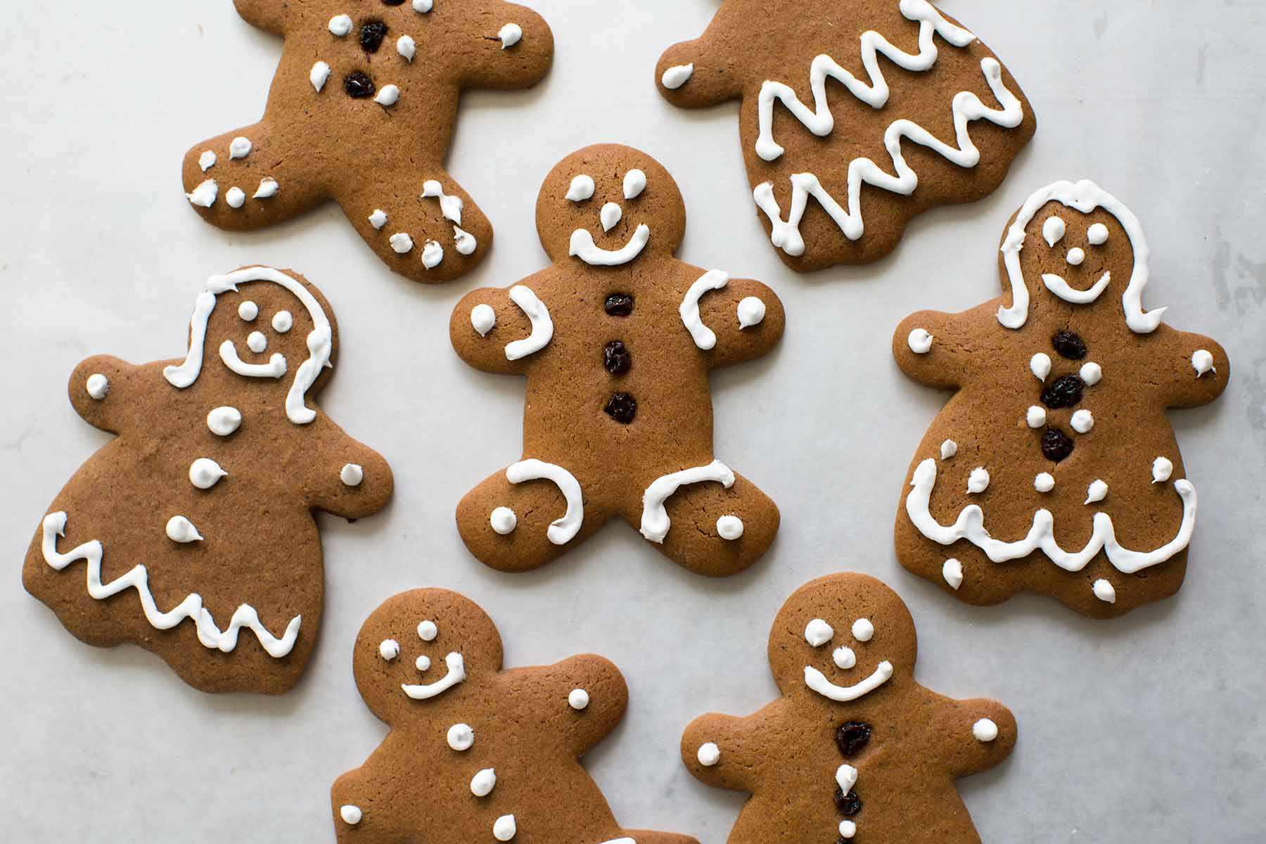 Gingerbread Cookies Delightful Delicious