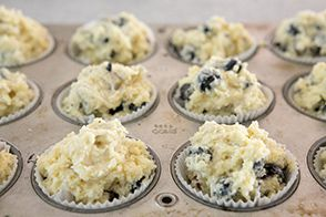 fill in muffin cups