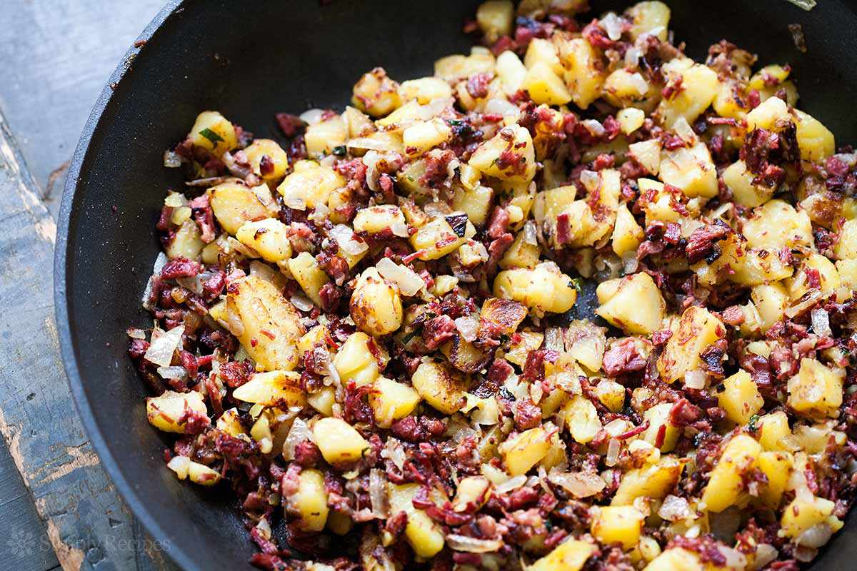 Corned Beef Hash Great For Leftover Corned Beef