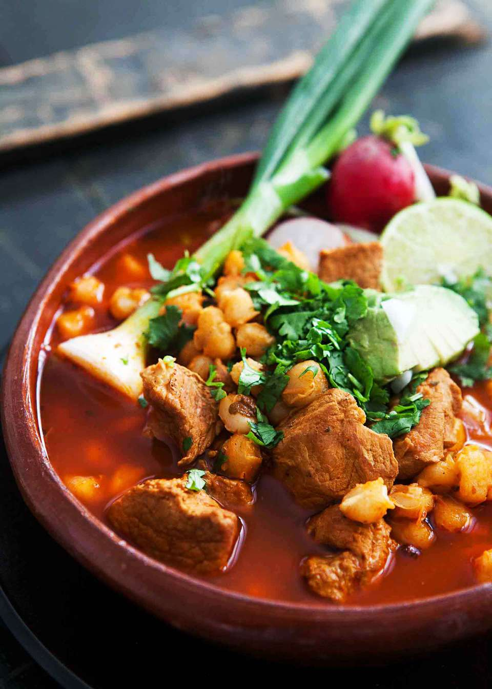 Best Pork Pozole with Red Chilies