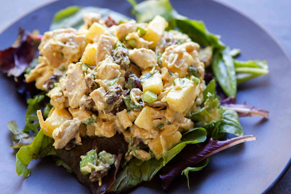 Turkey Curry Salad