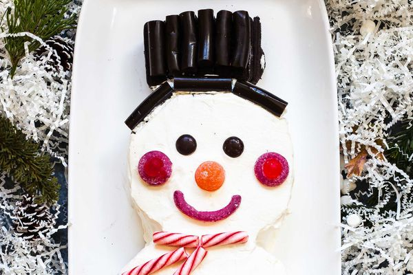 Snowman Chocolate Icebox Cake