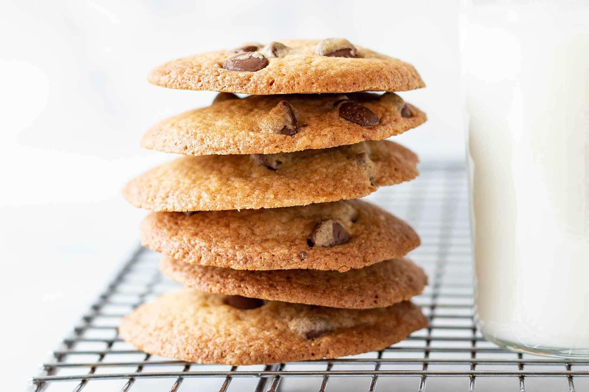 Best Crispy Chocolate Chip Cookies Recipe