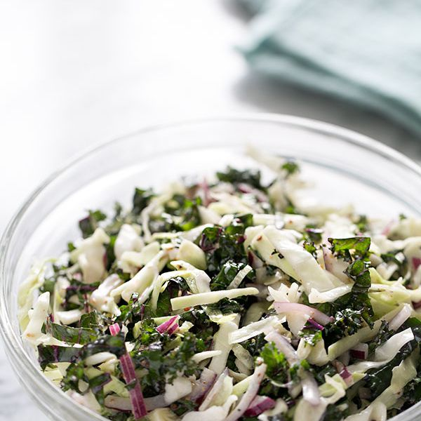 Cabbage and Kale Slaw