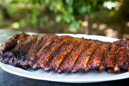 Memphis Style Pork Ribs Recipe
