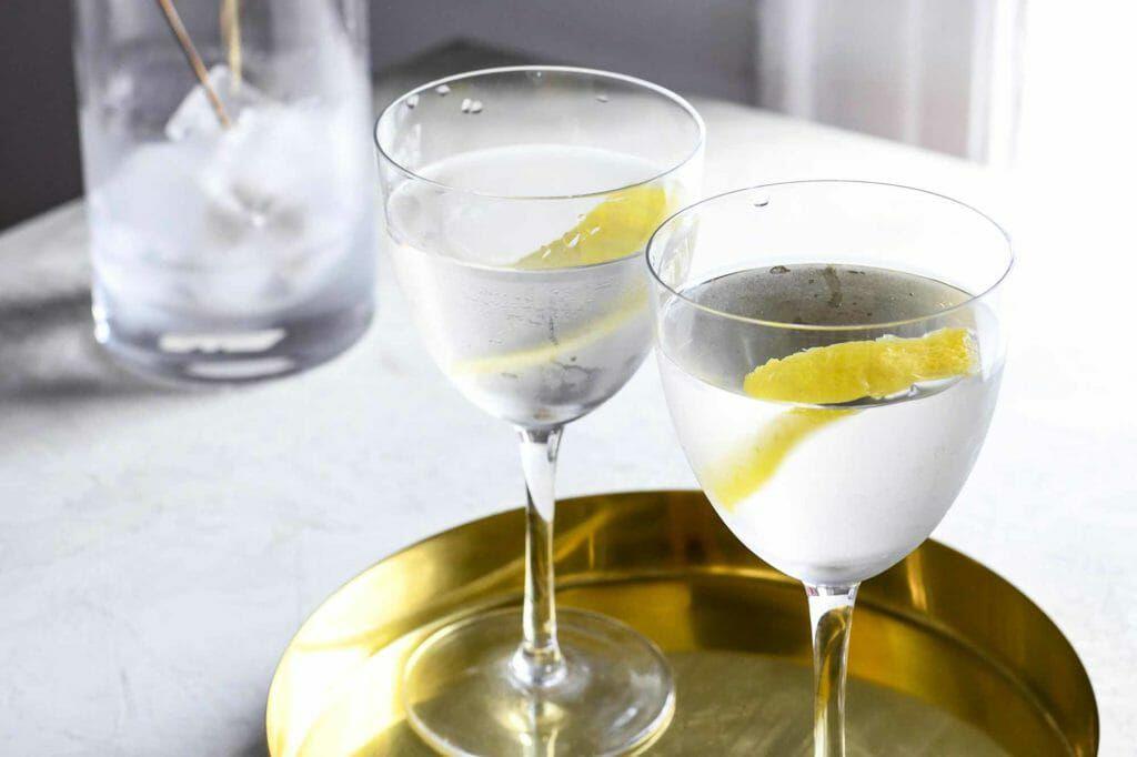 Classic Martini - stirred vodka martini with pitcher