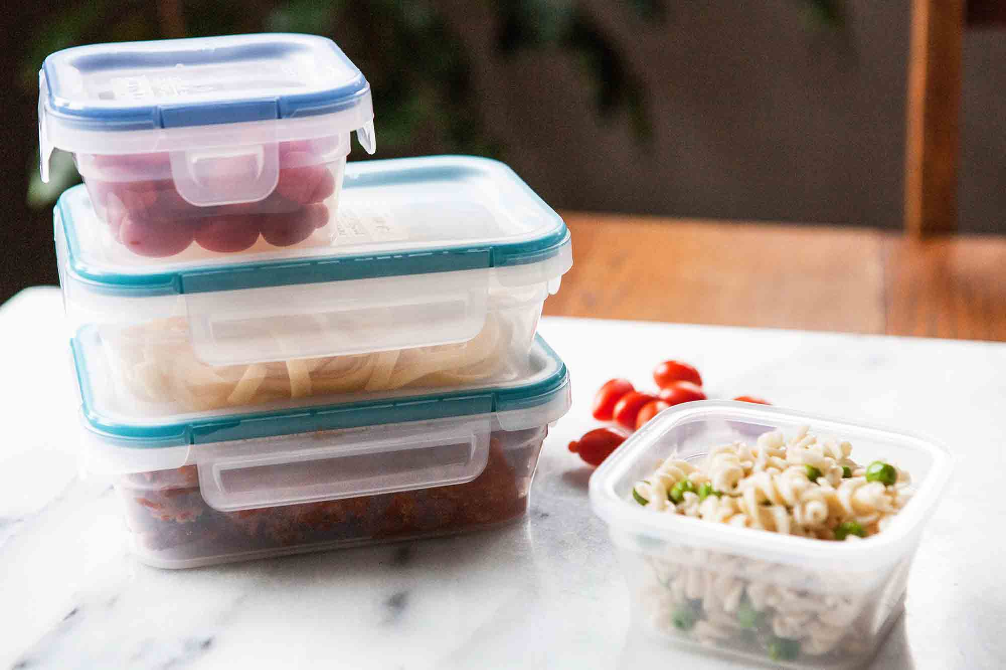 Food Storage Containers - Snap on lids for leftovers