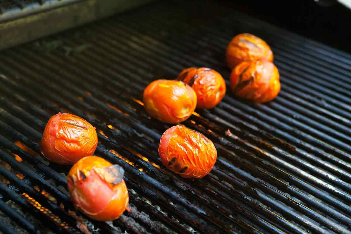 grilling tomatoes for salsa recipe for canning