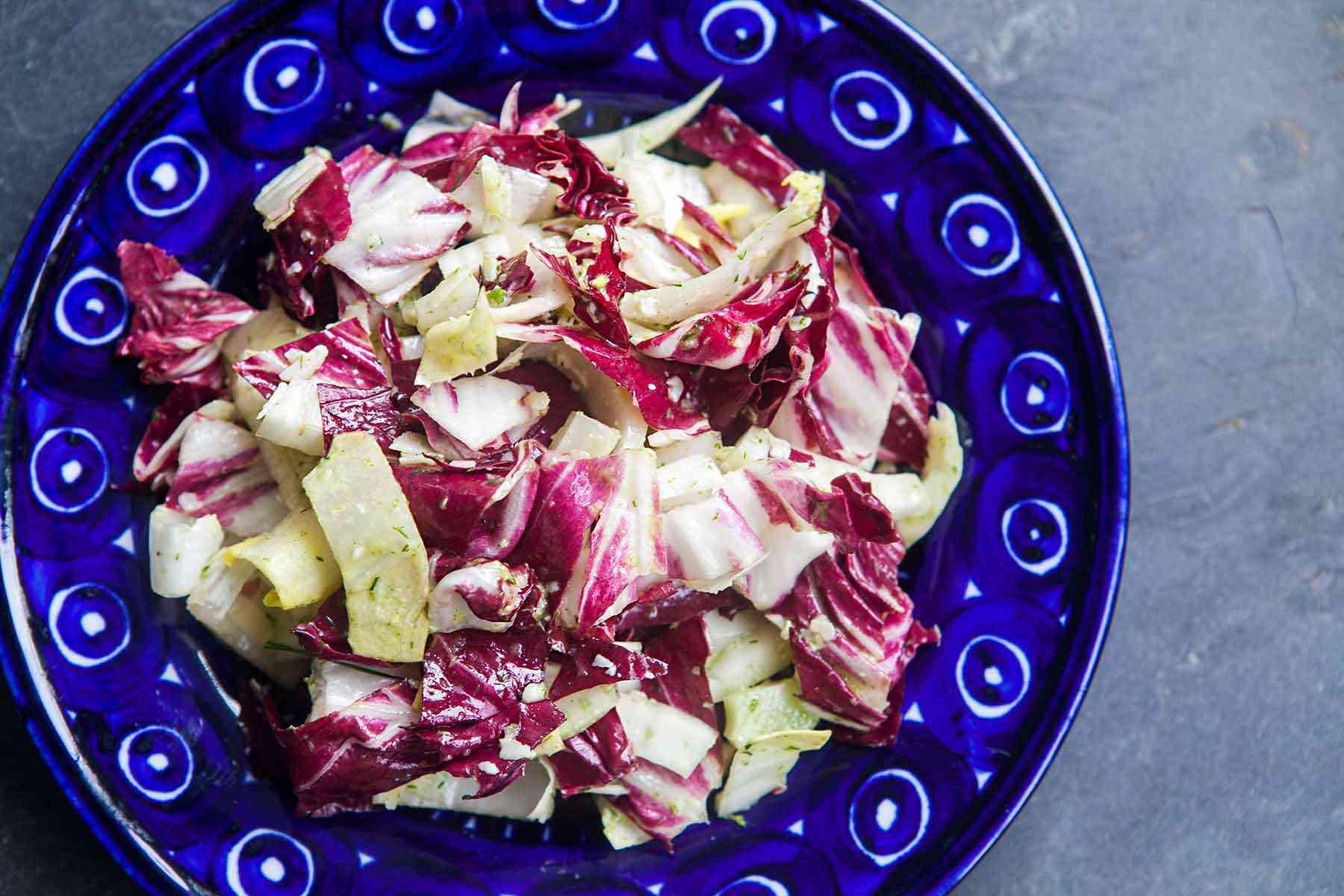 Fennel, Radicchio, Endive Salad