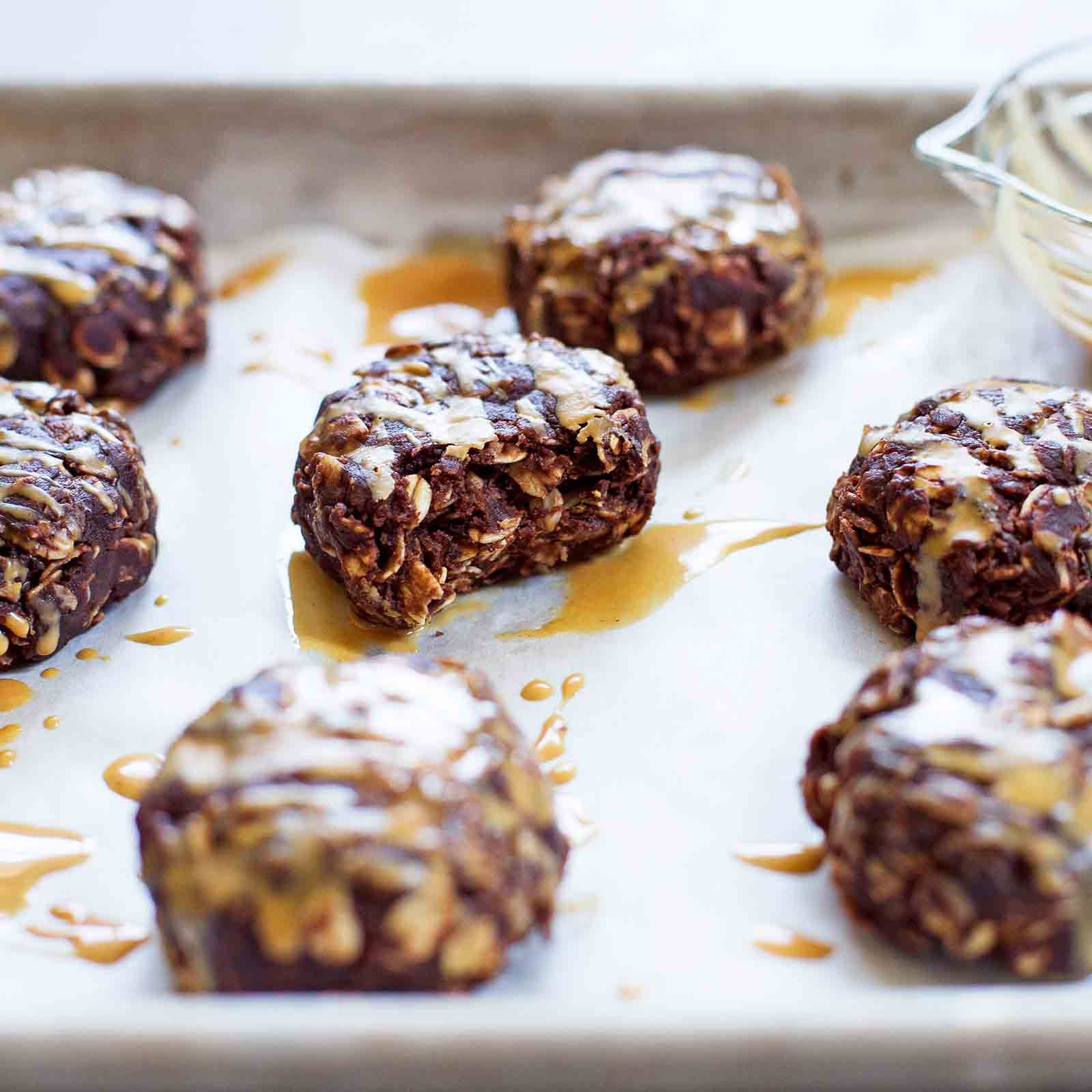 Peanut Butter No Bake Cookies - The Best Combo Ever!