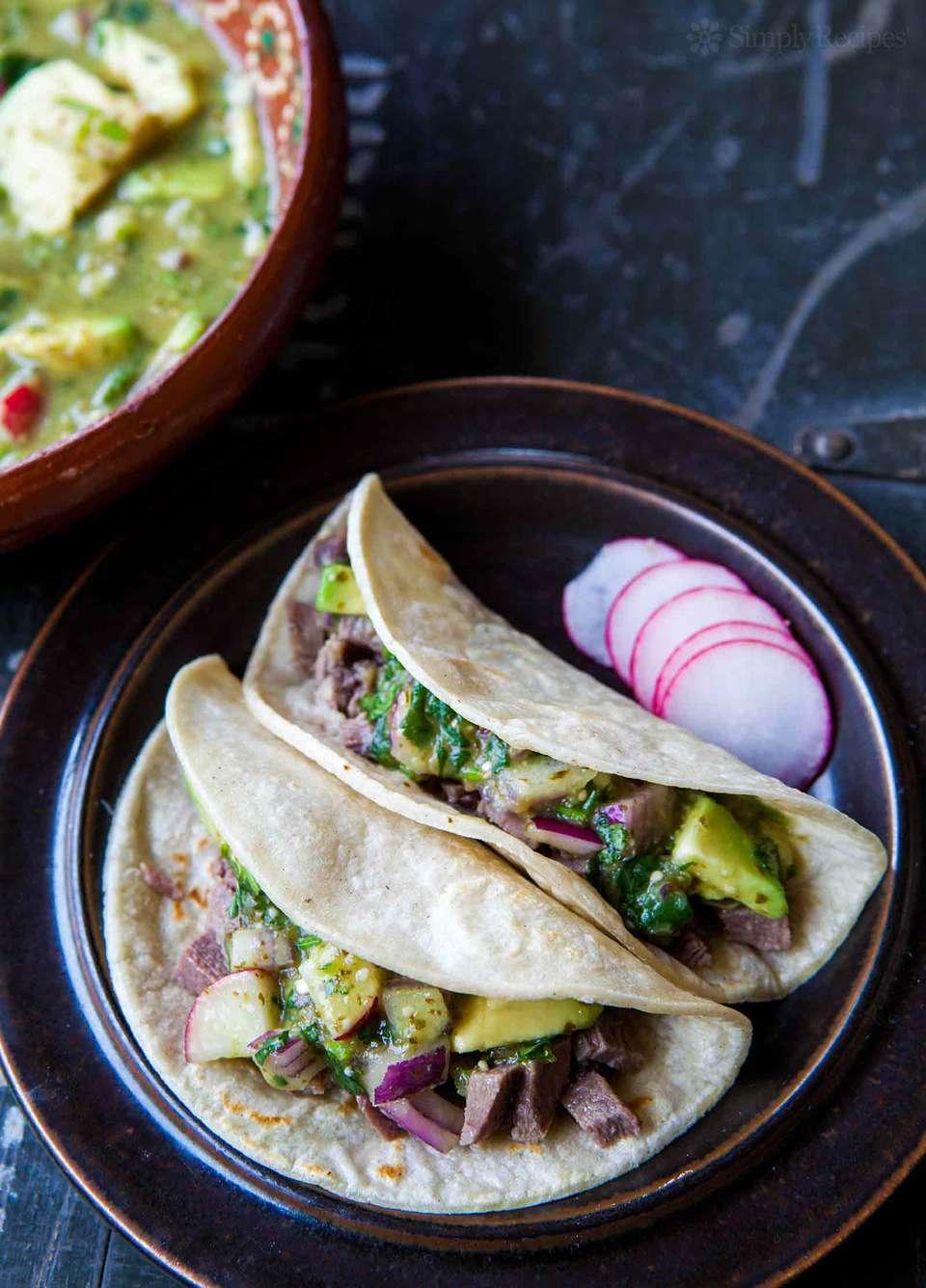 How to make Mexican Tacos de Lengua