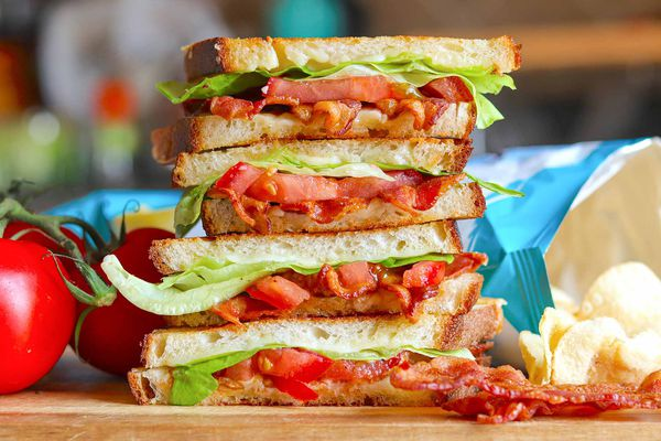 Grilled Cheese BLT sandwiches