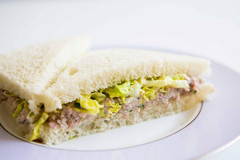 Deviled Ham Sandwich with Pickled Jalapenos