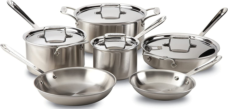 All-Clad 10-Piece Cookware Set