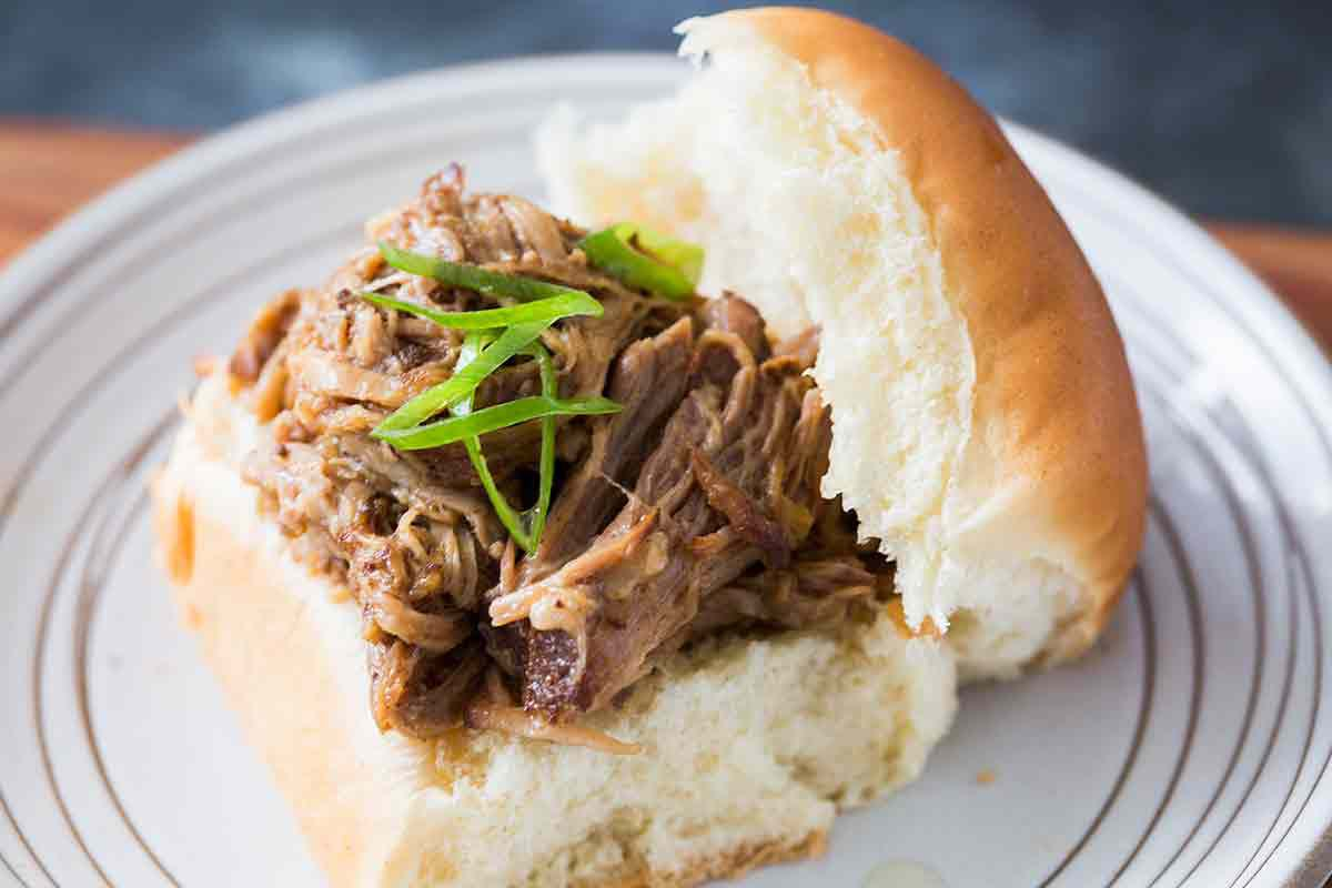 Slow Cooker Chinese Pulled Pork
