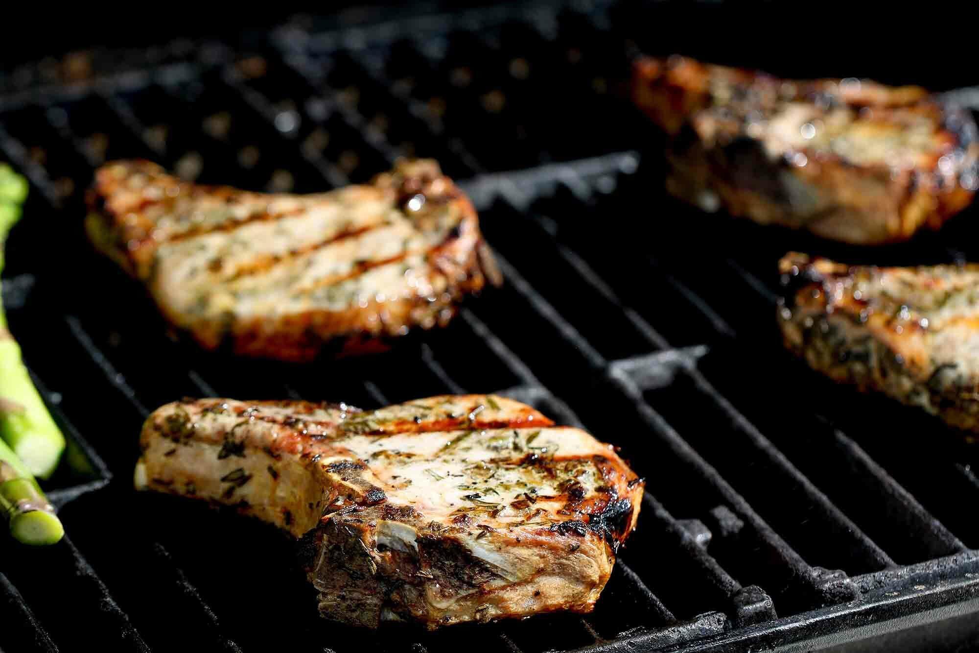 Bone-in Pork Chops Sous Vide