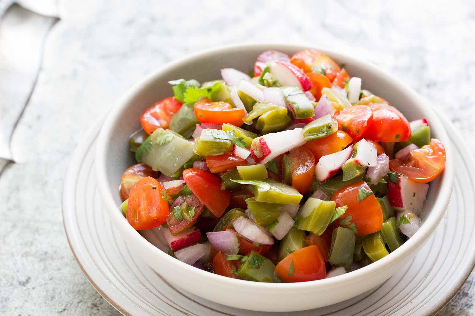 Nopalitos Cactus Salad