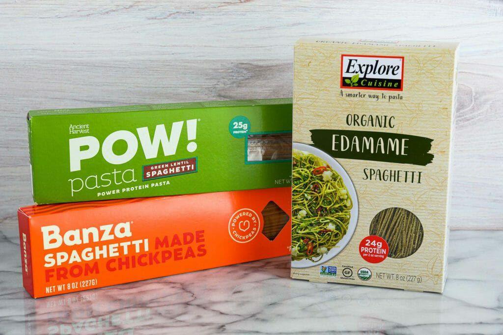 chickpea lentil based gluten-free pasta