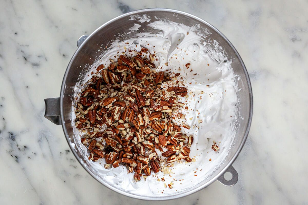 Pecan Meringue Cookies Method