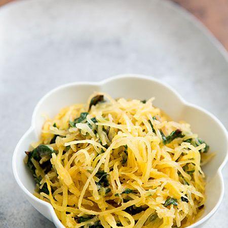 Spaghetti Squash and Chard Sauté on Simply Recipes