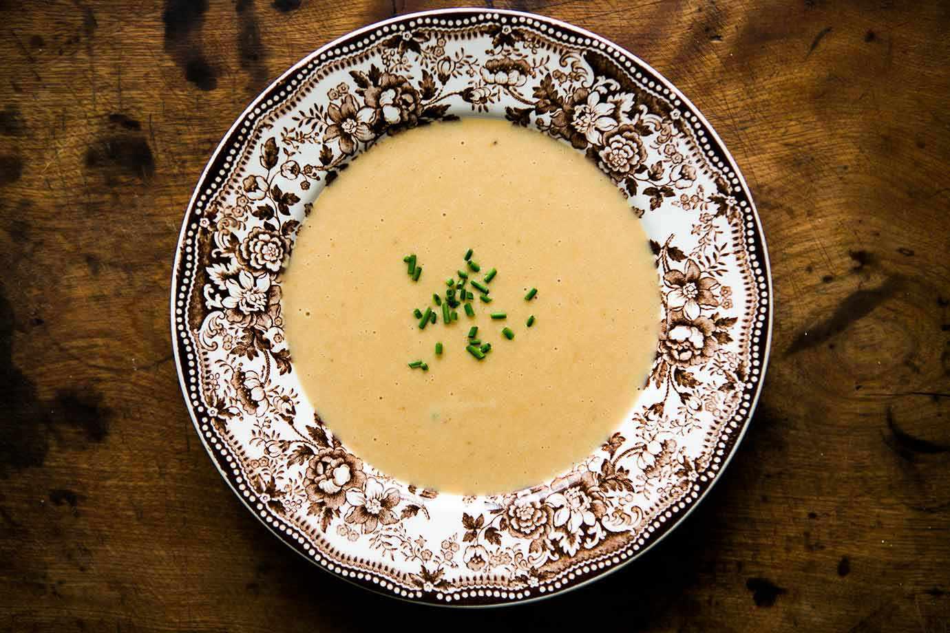 Potato Cheddar Guinness Soup