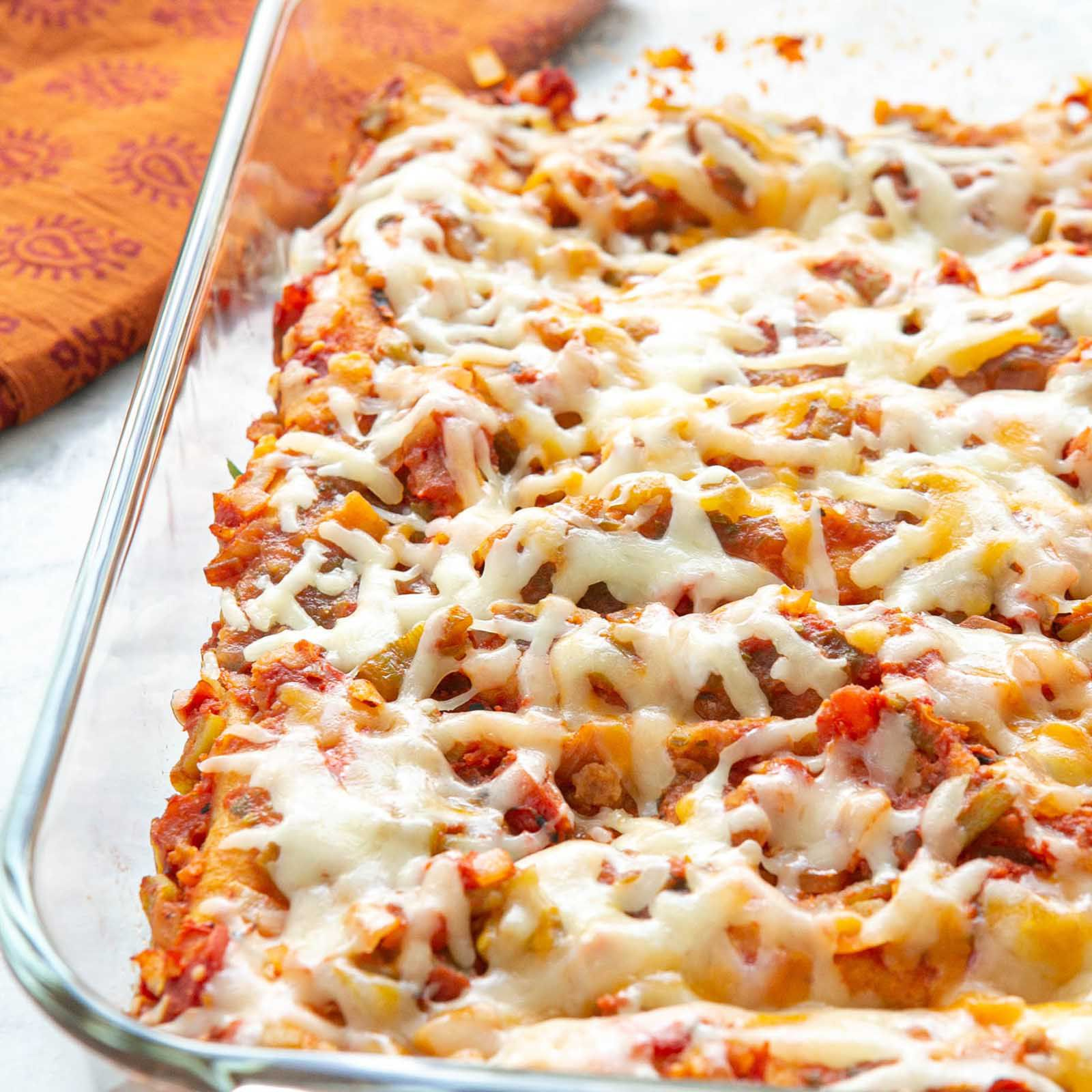 Enchiladas Easy Cheesy
