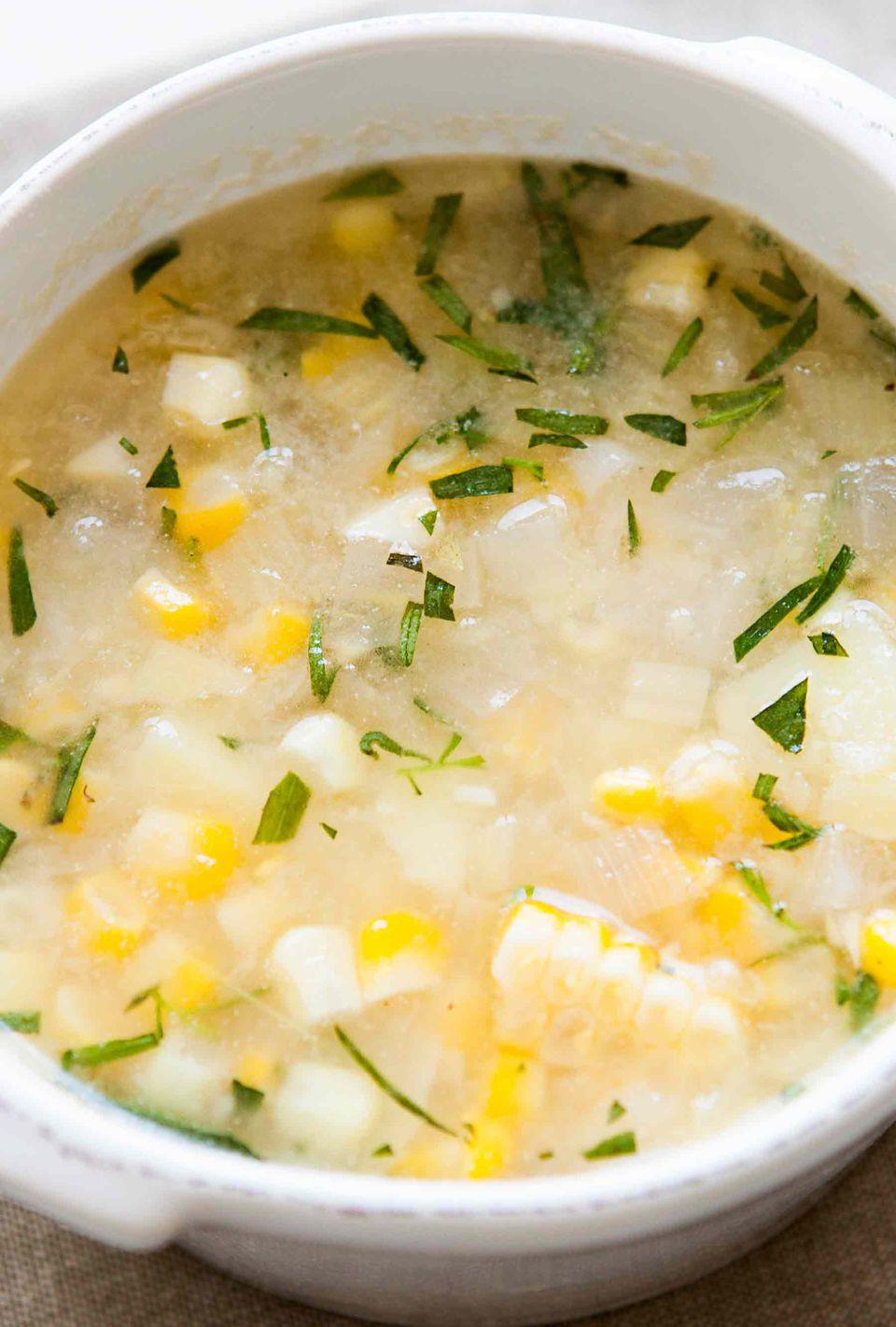 Tarragon Corn Chowder