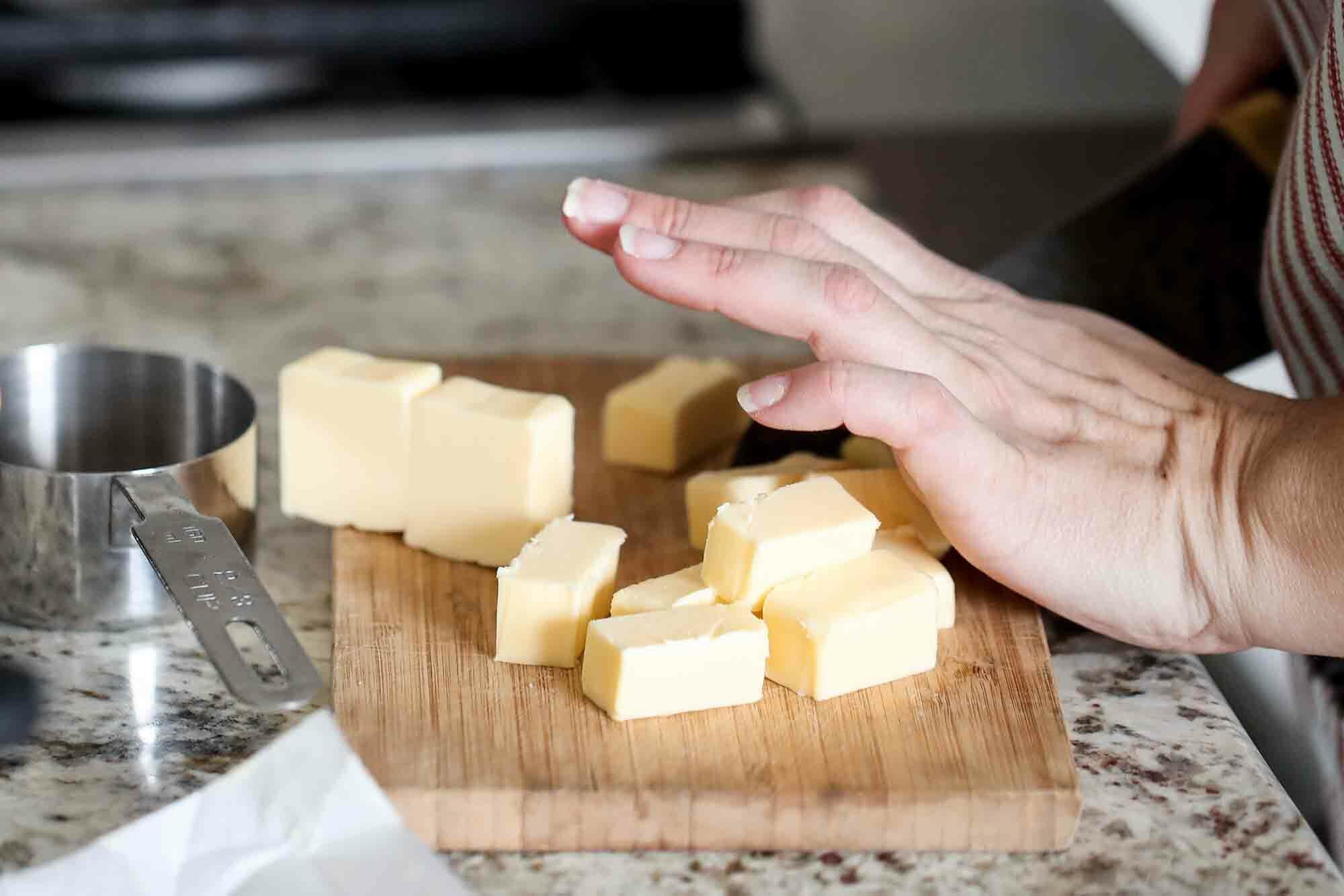 Best Lemon Curd Recipe Adding the Butter