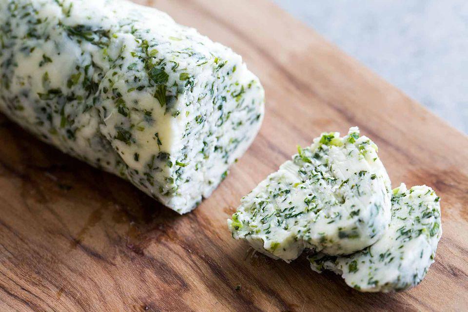 Cilantro Lime Compound Butter