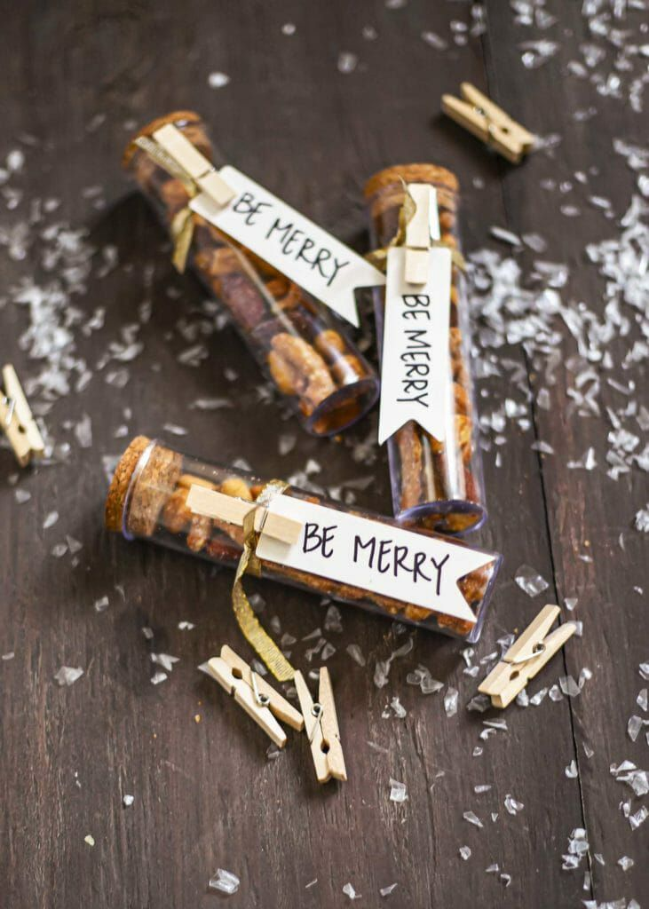 Labels for holiday food gifts
