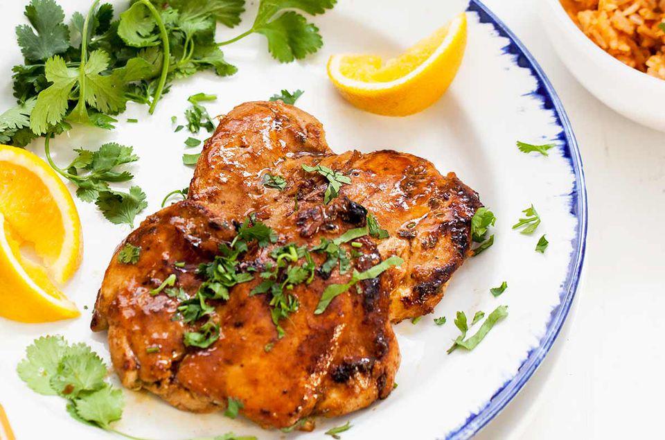 Spicy Orange Marinated Chicken